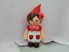 Topo de bolo - chapeuzinho vermelho