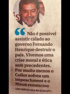 #ForaPT Lula, então, acha que Dilma tem de renunciar ou de ser impichada, certo? http://veja.abril.com.br/blog/reinaldo/geral/bomba-bomba-lula-diz-que-dilma-tem-de-sofrer-impeachment-ou-de-renunciar/