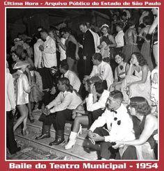 Cotidiano Carioca dos anos 1950: Baile de Carnaval do Teatro Municipal do Rio de Janeiro de 1954 - Parte II