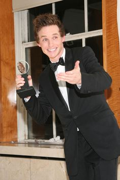 Eddie Redmayne @Angie Sparkisyan umm so you should love him with me. His credentials: HE'S BRITISH. (that's all you really need to know) BUT he's also an actor, model, and singer... so ya, lemme know if ya ever wanna fangirl or something ;D xx