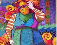 Art Print door Mary Vogel Lozinak Steampunk  Vogel nummer 9   ******************************************************** De afdruk opgenomen in deze verkoop is in de eerste foto ******************************************************** Standaard formaat, heeft geen behoefte aan een aangepaste frame  AFMETINGEN: 9 x 12 inch  Dit zal een standaardfotolijst passen.    Dit is een professionele afdruk van een van mijn originele kunstwerken. Het origineel werd gedaan in de pen en markering.   SRAJD…
