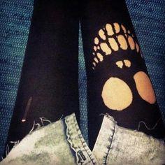 Caveira,meia calça perfeita...