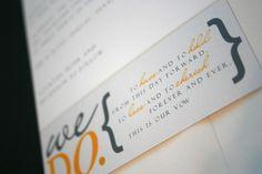 yellow and gray wedding invitation  we do  modern wedding