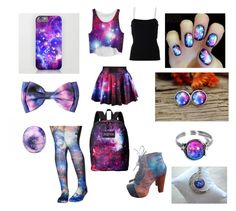 """""""Galaxy 2"""" by fashion-anime-animals-reading ❤ liked on Polyvore featuring Eos, Jeffrey Campbell, Odd Sox, T By Alexander Wang and JanSport"""