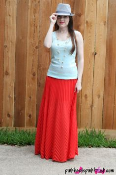 The Carrie Bradshaw Skirt via http://pinkheelspinktruck.com (@Taylor @ Pink Heels Pink Truck)