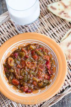 hmiss, salade de poivron / paprika salad - recette algerienne