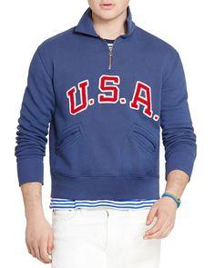 Polo Ralph Lauren Team Usa Fleece Sweatshirt