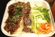 Grilled Beef With Vermicelli From Pho So 1 Randolph Ma