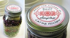 FREE Printable Vintage Labels - for gift jars, gift tags, apothecary jars, tins, etc.