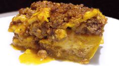 Pastelón (Sweet Plantain Lasagna)   1 lb ground Beef or Pork  1 Tbsp Adobo Seasoning  3 Sweet Plantains*  2 Tbsp Olive Oil (or fat of choice)  3 Garlic cloves  3 Bay Leaves  4 Tbsp Sofrito  1 ½ tsp Culantro & Annatto Seasoning  8oz Tomato Sauce  8oz Water  ½ tsp Black Pepper  ½ tsp Sea Salt  ½ tsp Oregano  6 Eggs
