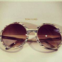 Want them! Tom Ford sunnies  #tomford #accessories #sunglasses #loveit #ss13 #cool #instadaily #fashionblogger #beautiful - @daria_kunilovskaya- #webstagram