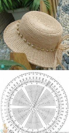 Diy Crafts - Fedora,Free-Crochet Crochet Patterns For Bags Fedora Free hat Pattern Than Fedora Hat Crochet Pattern Free 15 Diy Crafts Knitting, Diy Crafts Crochet, Crochet Projects, Crochet Summer Hats, Crochet Girls, Crochet Sun Hats, Crochet Shawl, Free Crochet, Knit Crochet