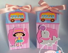 Caixa milk Circo Rosa
