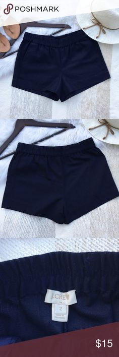 """•J. Crew Factory Navy Shorts• J. Crew Factory 