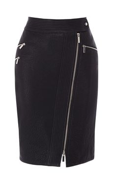 Zip Leather Pencil Skirt Totally reminds me of skirt we carried at Cache! 780775fe88398