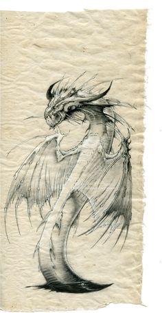 ☆ Dragon Abyssal :¦: Art By Krukof2 ☆