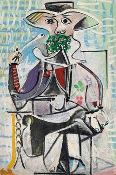 Pablo Picasso (1881-1973) Homme à la pipe