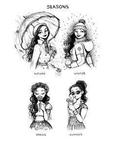 Character Design Idea~ By C-cassandra Cute Drawings, Drawing Sketches, Drawing Style, Drawing Ideas, C Cassandra Comics, Cassandra Calin, Art Parisien, Illustration Mode, Landscape Illustration