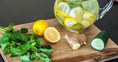 Envie d'une boisson rafraîchissante pour vous hydrater tout au long de la journée et vous détoxifier ? Préparez cette recette...