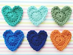 Ravelry: small GMT hearts pattern by Vonnie Tang
