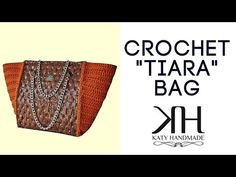"Tutorial pochette ""Margherita"" uncinetto 