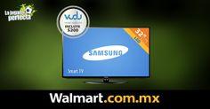 ¿Ya estás listo para ver los partidos del mundial? Entra hoy y pide tu pantalla Samsung. El envío es gratis y puedes pagar a meses sin intereses.  Walmart.com.mx, Hacemos Clic!
