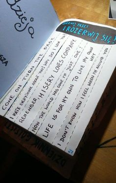 Podesłała Zuzia Pypeć #zniszcztendziennik #kerismith #wreckthisjournal #book #ksiazka #KreatywnaDestrukcja #DIY