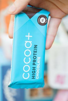 Ever wanted to eat chocolate and know its doing you good? Now you can with this super yummy protein bar, don't be put of by the protein part, it tastes just like chocolate and is super filling too!