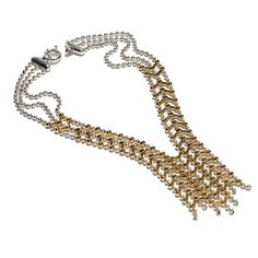 Giles & Brother - Apache Two Tone Cascade Necklace