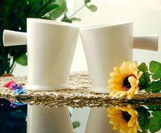 Side Slant Designed Coffee Mug