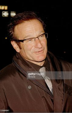 Robin Williams during Sting's 52nd Birthday Party at New York City in New York City, New York, United States.