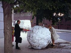 Mid-Summer Snowballs by Andy Goldsworthy