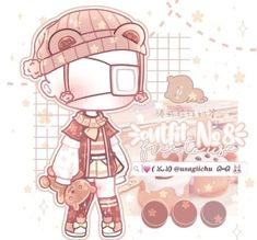 Character Outfits, Cute Anime Character, Cute Kawaii Girl, Club Hairstyles, Doodles, Pony Drawing, Club Design, Fashion Design Drawings, Wallpaper Iphone Cute