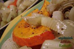 Herbst-Ofengemüse auf dem Teller    http://kochwelt-blog.de/2012/10/der-herbst-ist-bei-uns-in-die-kueche-eingezogen/