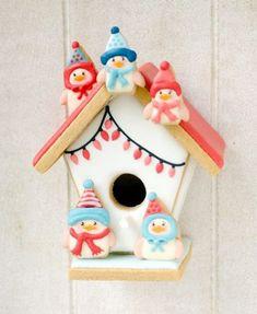 The Best Holiday Cookies Ever: Birdhouse Cookies from @De Koekenbakkers