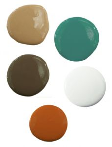 Olive Green Bathroom Accessories
