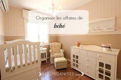 Cette semaine je réponds à une demande d'une lectrice qui souhaitait des idées pour organiser les affaires de bébé.