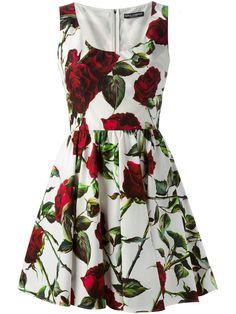 Dolce & Gabbana Vestido Godê - Cuccuini - Farfetch.com                                                                                                                                                      Mais