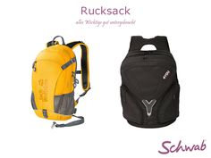 Alles Wichtige dabei mit einem passenden #Rucksack!
