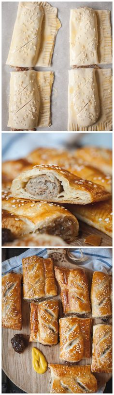 Gloriously flaky sausage rolls come from just 2 ingredients and need no more than 10 minutes of your time! They will be a hit at your next party!