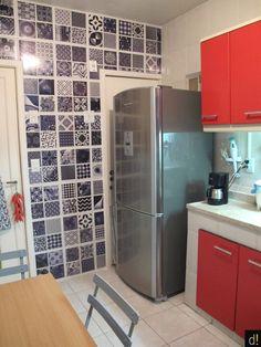 Decorviva! - Inspiração no tom da decoração.: Uma cozinha (e sua dona) ainda mais feliz!
