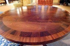 English Regency Mahogany Center Table image 2