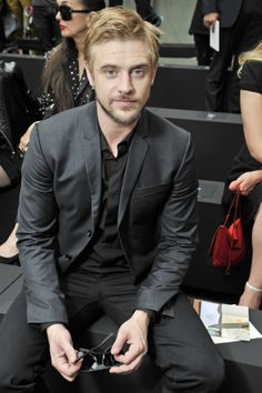 cultivated-arrogance-blog:  Boyd Holbrook FROW @ Dior Homme S/S 2016 Show in Paris…