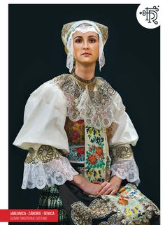 Jablonica, Záhorie, Slovakia Folk Costume, Costumes, Quirky Fashion, Kimono Top, Bell Sleeve Top, Embroidery, Beautiful, Clothes, Bratislava