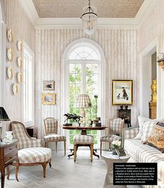 Cote de texas: July 2012 and LUXE cover. This is Houston?No Seagrass? No Slipcovers: Living Area, Living Spaces, Living Rooms, Design Salon, Home And Deco, Beautiful Interiors, Interiores Design, Cottage Style, Slipcovers