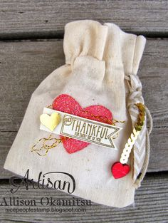 Pink and Glam Muslin Bag by AllisonStamps! - Cards and Paper Crafts at Splitcoaststampers Muslin Bags, Fabric Bags, Arts And Crafts, Paper Crafts, Art Crafts, Valentine Crafts, Valentines, Artisan & Artist, Diy Craft Projects
