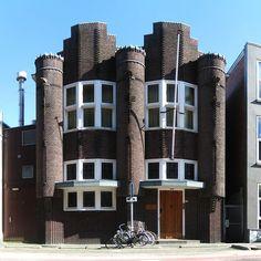 Odd Fellowhouse - WA Scholtenstraat 21 Groningen (City - NL)