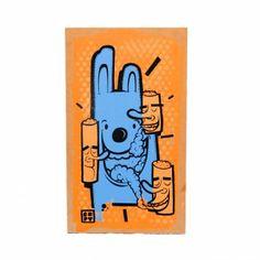 Pintura Conejo Azul by CEPT