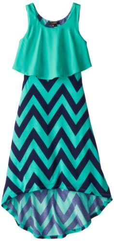 My Michelle Girls 7-16 High-Low Chiffon Top Over Tank Maxi Dress, Mint, 8 My Michelle http://www.amazon.com/dp/B00INU9I7A/ref=cm_sw_r_pi_dp_ffxTtb00J2H9H02C
