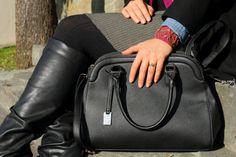 #bag #black #bracelet